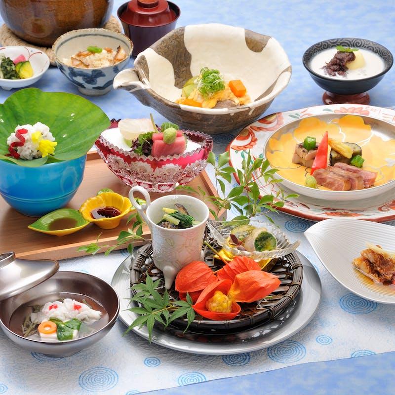 【四季の楽膳 匠】選べる造り、野菜、主菜、食事など全7品(日曜限定/窓側確約)