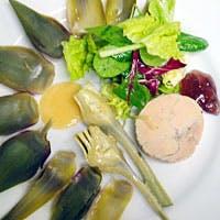 鮮やかで軽い料理の数々は京都発の現代フランス料理です