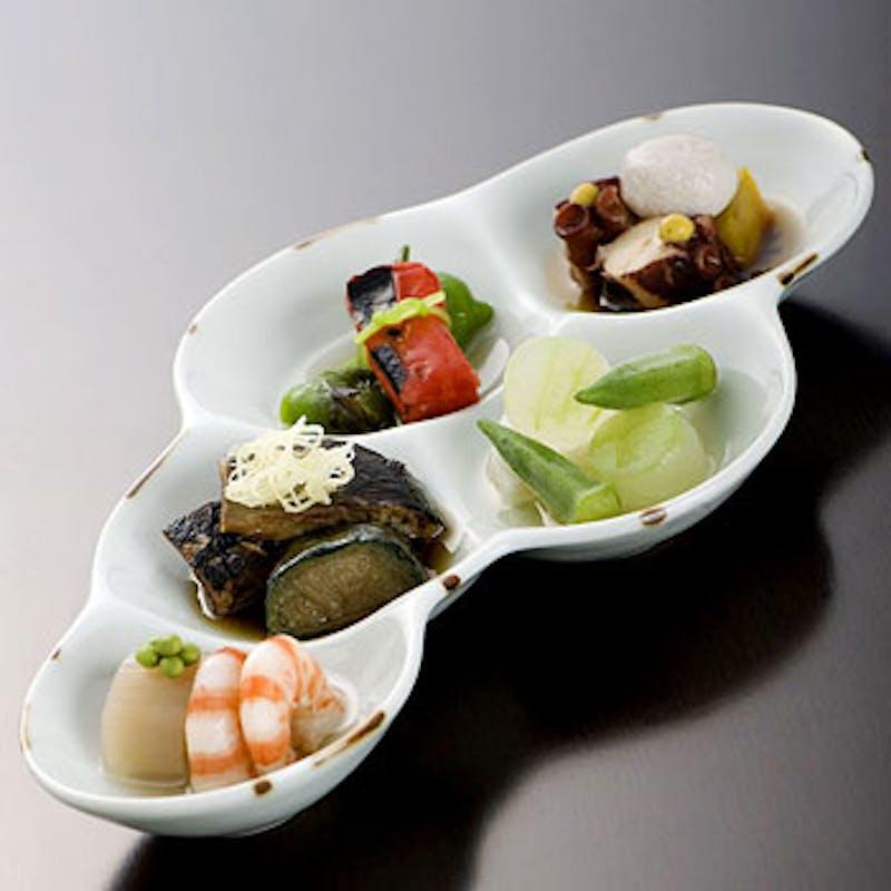 【太閤膳】先付、魚料理、揚物、水菓子など全7品+選べる1ドリンク
