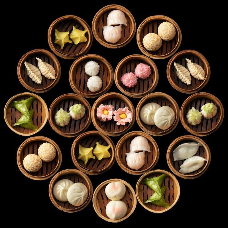 SAVVY特集掲載!【飲茶ランチ】平日限定の前菜からデザートまで全6品