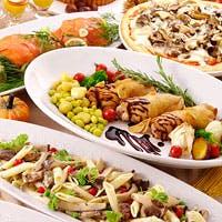 世界各国の料理をご賞味いただけます