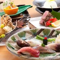 日本料理の技が光る