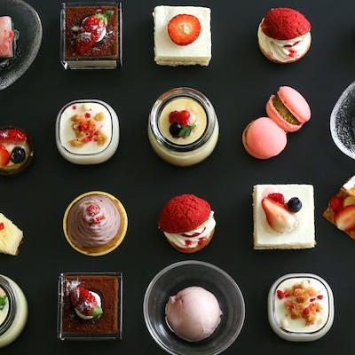 2021年の太閤園のいちごビュッフェ、いちごの誘惑 よくばりプレート&スイーツ食べ放題~Sweet Invitation~
