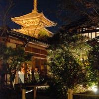 八坂の塔の東隣に広がる1300坪の空間は、日本画家の巨匠竹内栖鳳の私邸