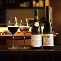旬の牡蠣や手づくりの季節のイタリアンに合うワインが70種類以上