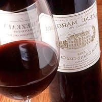 厳選された素材が織りなす料理とワインで至福のひとときを