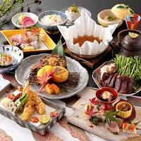 四季おりおりの海の幸、山の幸。素材の持味を活かした日本料理の粋をお楽しみ下さい