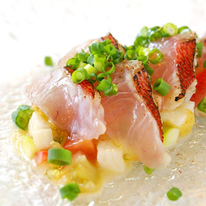 【Lunch C】前菜2皿、パスタ・魚と肉のWメイン全7品