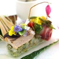 こだわりの京野菜や厳選素材を用い、繊細なフランス料理の新たな世界を目指す