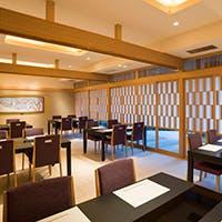 ホテル別館に位置する、本格和食レストラン