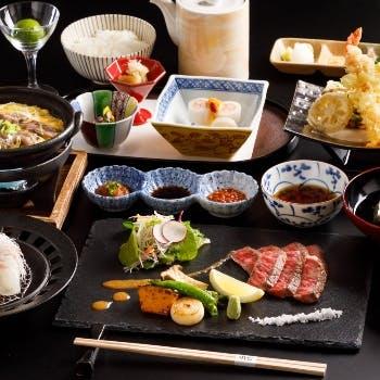 【数量限定】神戸牛炙り焼き会席「将軍」