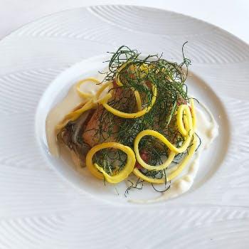 【Lunch B Course】贅沢ランチ 選べる(肉・魚)メイン&フォーなど全4品+1ドリンク&カフェ(1名様OK)