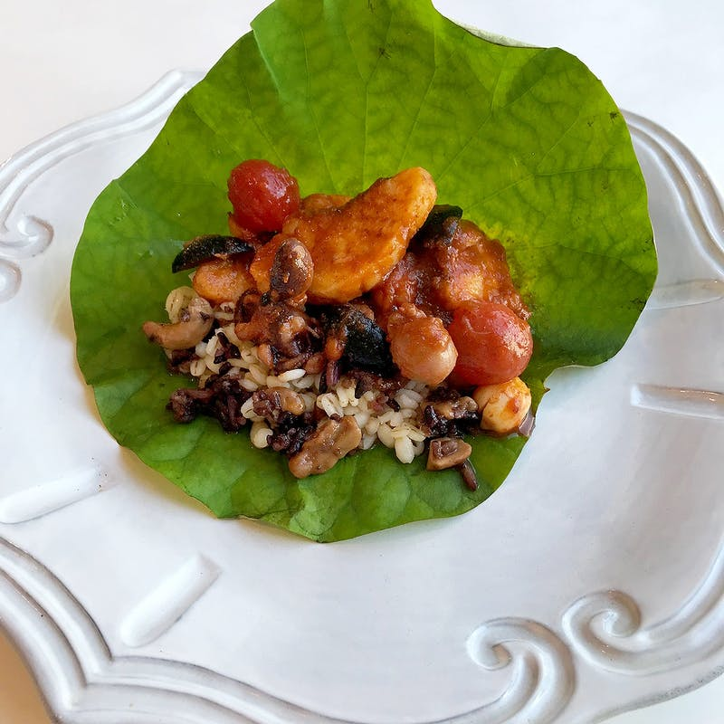 【Dinner B Course】贅沢ディナー 肉&海鮮Wメイン等全7品+1ドリンク&カフェ(通常テーブル席)