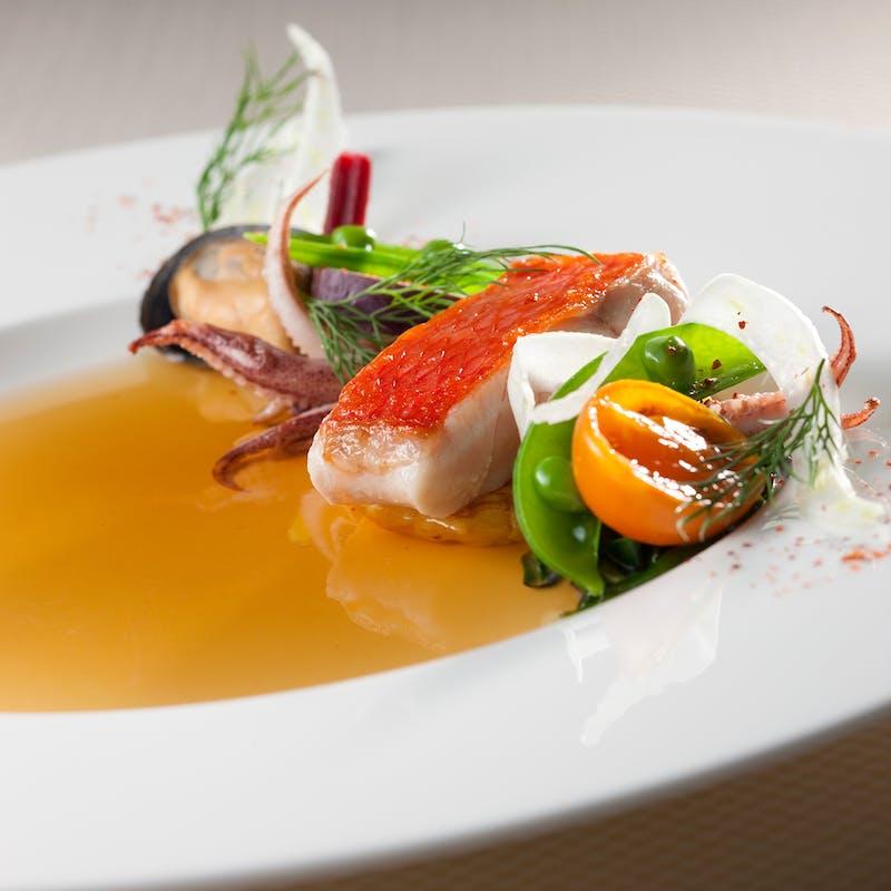 【LE MENU DE SORA】お魚&お肉のWメインなど全5品