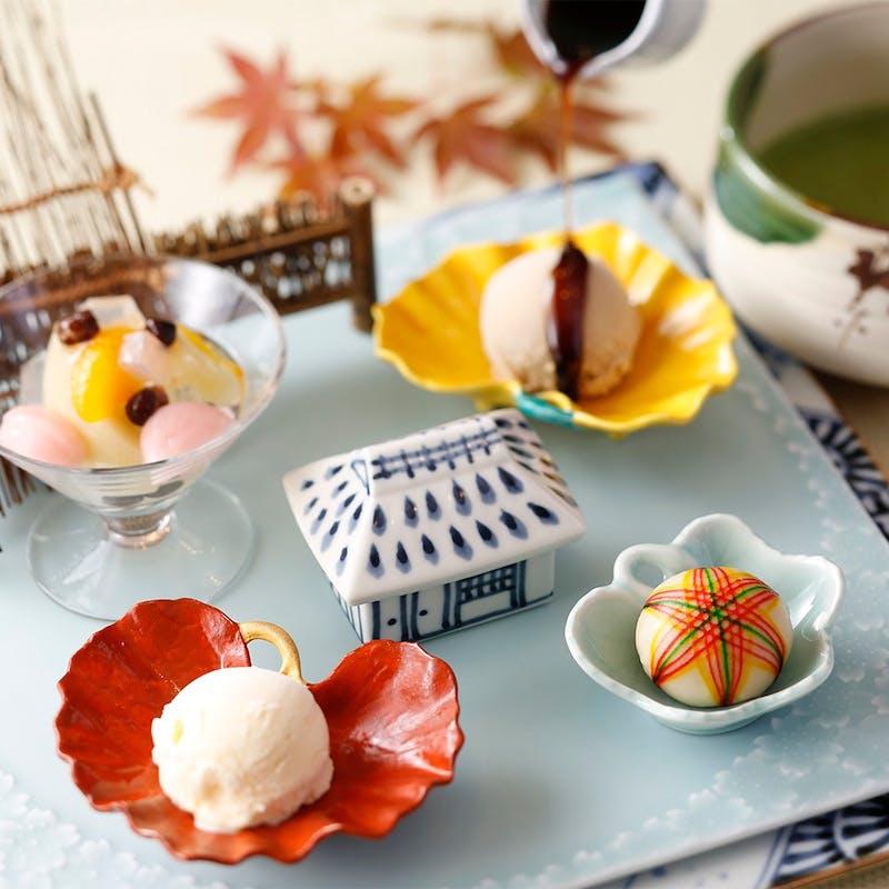【和(なごみ)】選べるデザート付きランチプラン(平日限定・4名以上で個室無料)