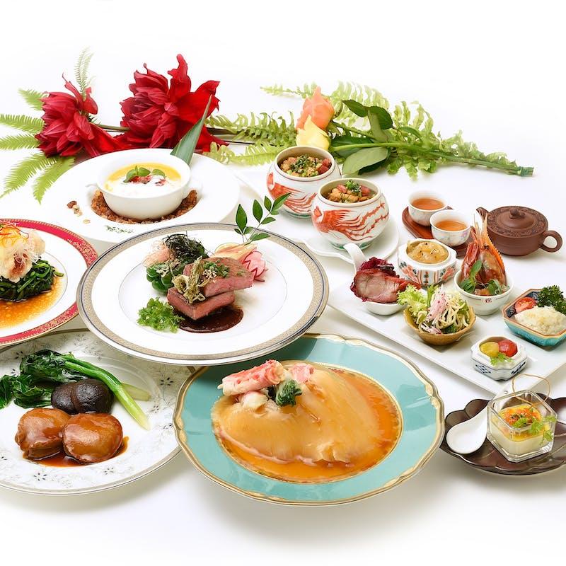 【老上海】特大のフカヒレなど全9品