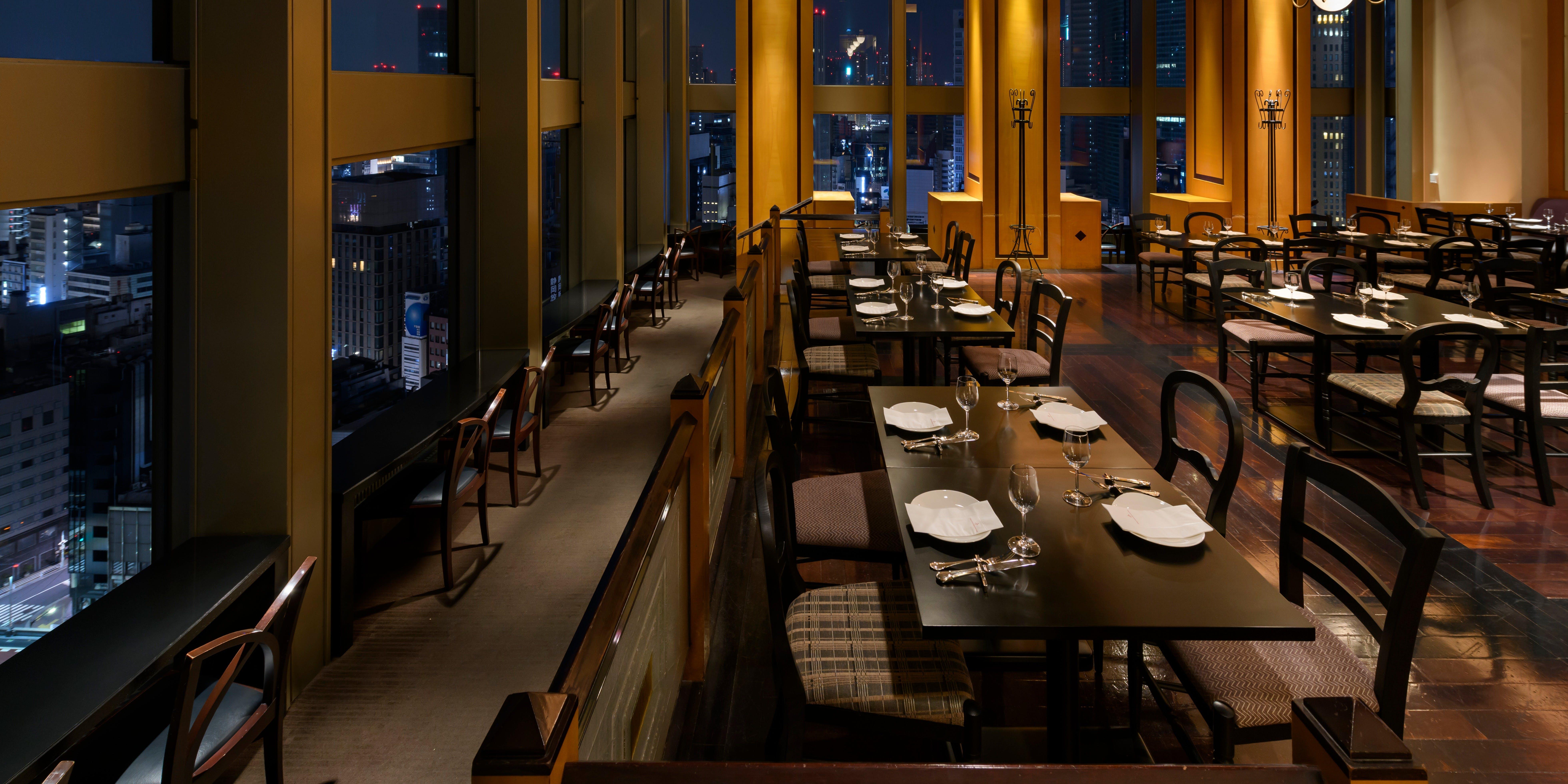 記念日におすすめのレストラン・ラウンジ21/第一ホテル東京 最上階(21階)の写真2