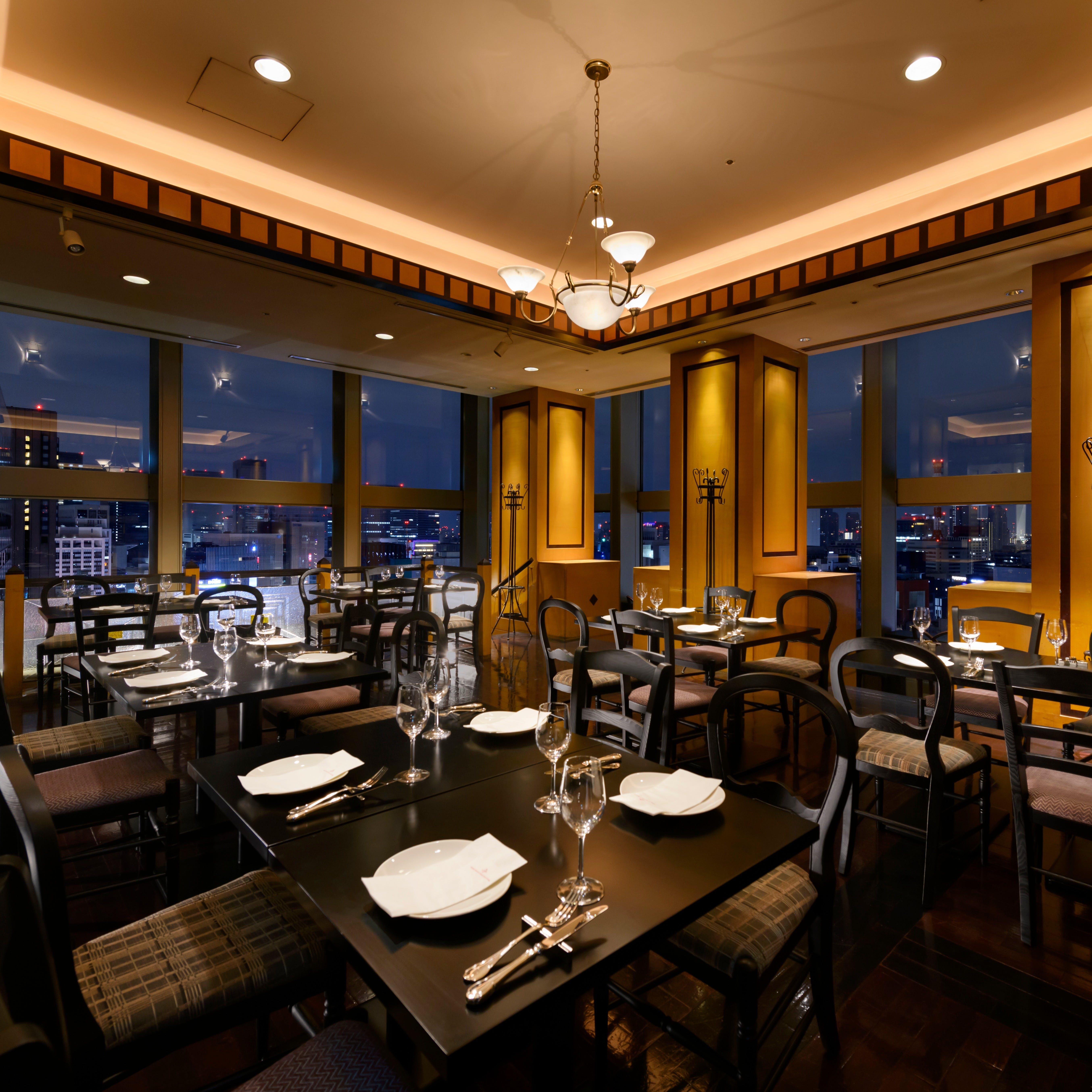 銀座&汐留の煌く夜景とお食事を贅沢に楽しむ
