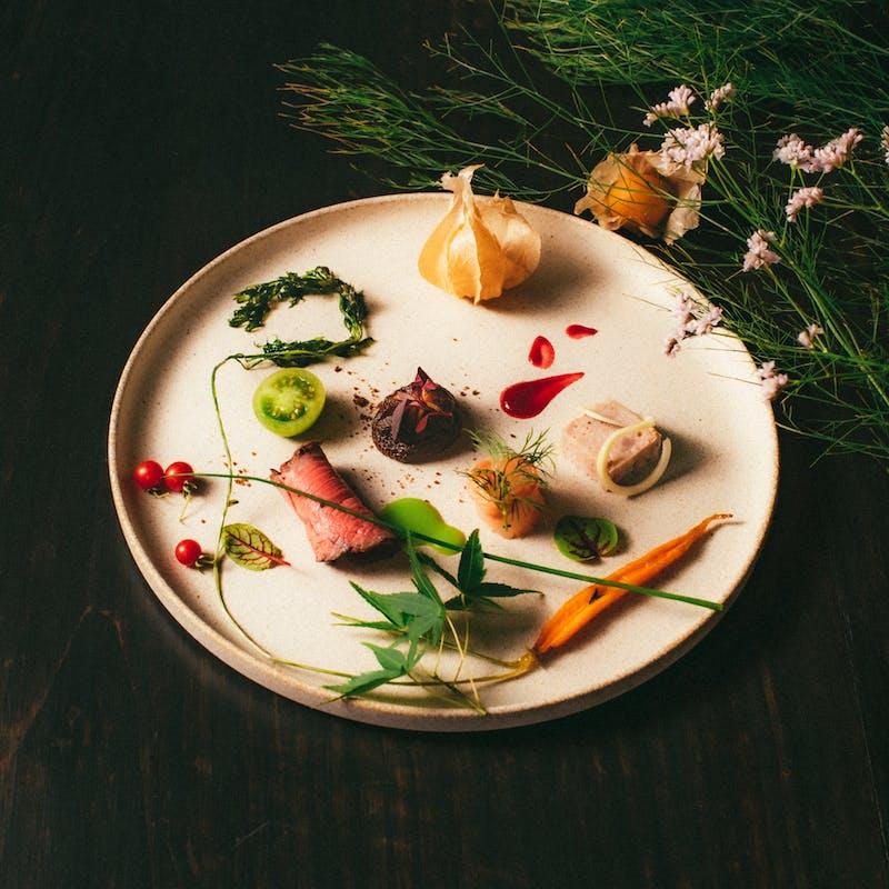 【お勧めランチコース】スミレ自慢の料理全5品+選べる1ドリンク
