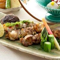 串焼きは一本から、一品料理も豊富にご用意しています