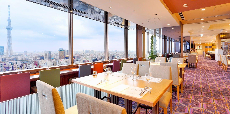 記念日におすすめのレストラン・スカイグリルブッフェ武藏/浅草ビューホテルの写真1