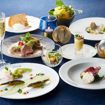 【ディナーコース×期間限定】1ドリンク付!魚&お肉のWメインや旬の食材を愉しむ特別プラン