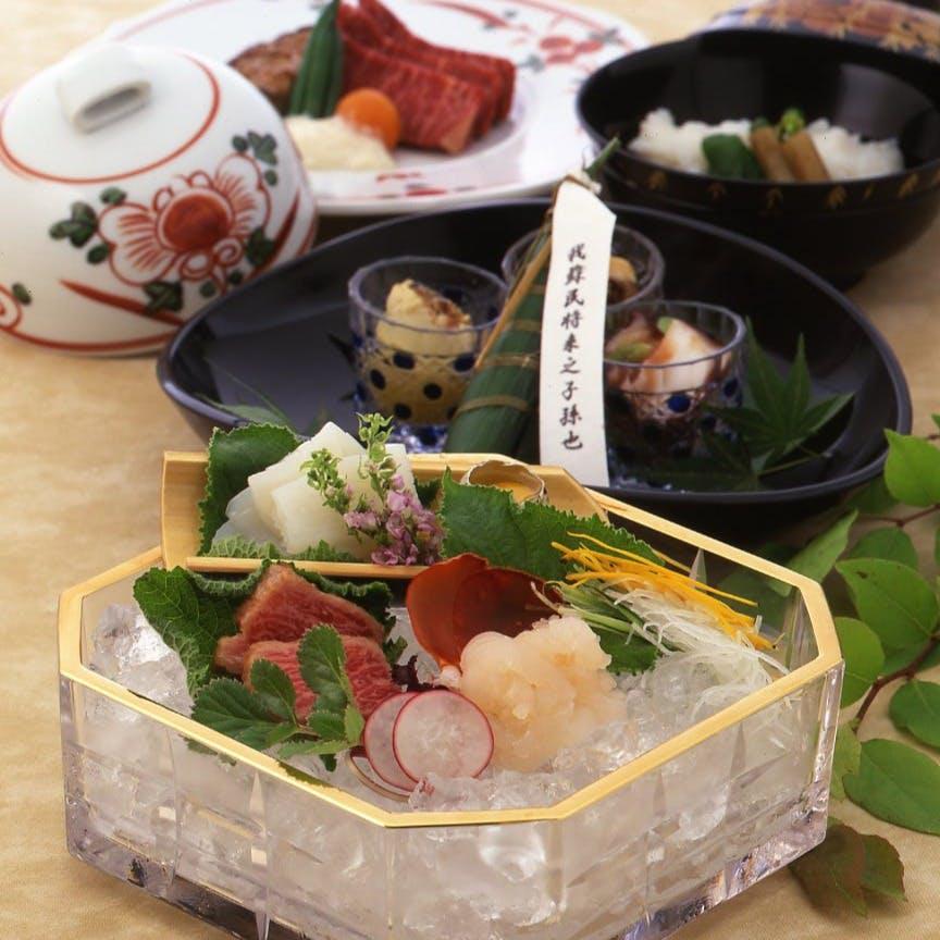 京料理の老舗伝承の味と技をご堪能ください