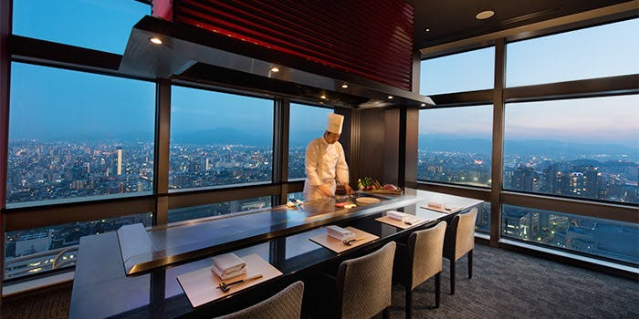 記念日におすすめのレストラン・鉄板焼 金葉亭/ヒルトン福岡シーホークの写真2