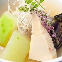 和と洋の究極のコラボレートを具現化したお料理