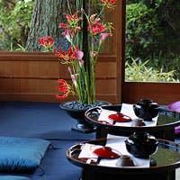 京野菜を始めとする土地の食材をメインにしたお料理は、伝統的でありながらも革新的