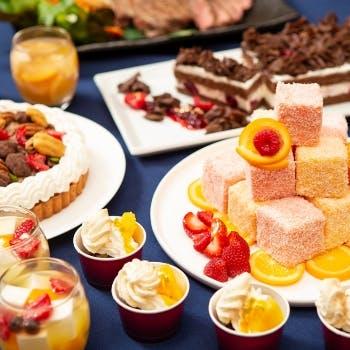【平日ディナーブッフェ】約90種のお料理を堪能+ワイン飲み放題付(120分制)
