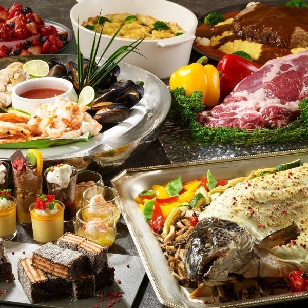贅沢で洗練された食の空間