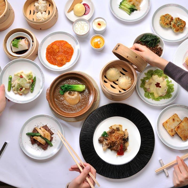 【大飯店オーダーブッフェ8000】時間無制限!50種類以上の豪華中華料理食べ放題+1ドリンク(土休日限定)