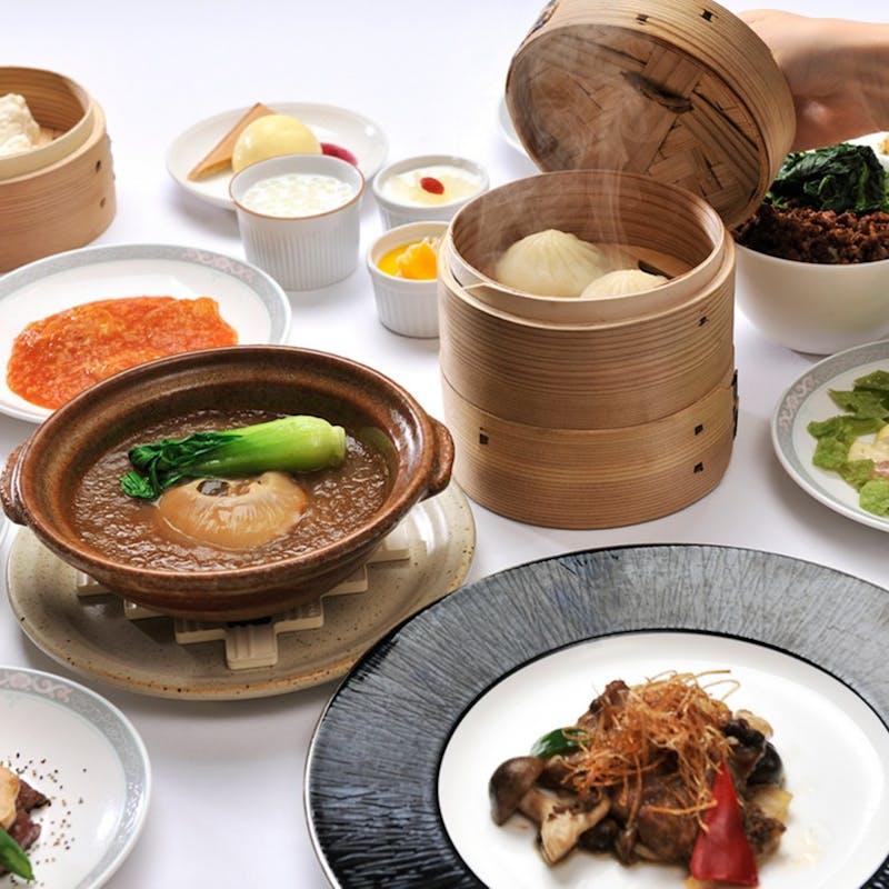 【大飯店 オーダーブッフェ6000】時間無制限!50種類以上の中華料理食べ放題+1ドリンク(土休日限定)