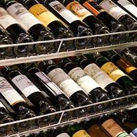 飲み頃ワインと確かな技術のお料理とのマリアージュをどうぞ