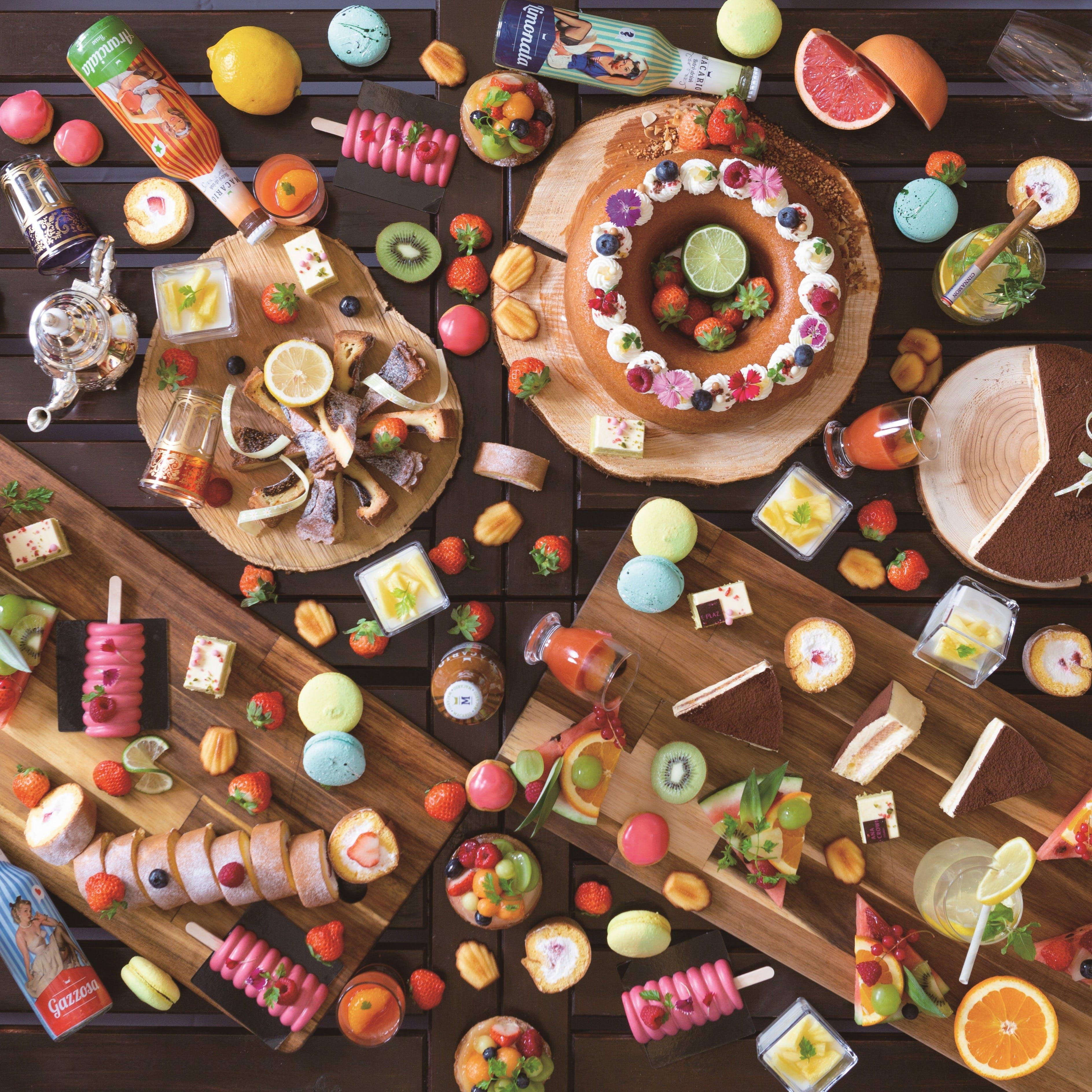 本格的で多彩な料理と手づくりデザート
