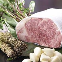 選び抜かれた牛肉、こだわりの鉄板焼き