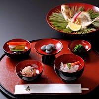 四季折々の味覚、伝統的な日本の味覚を五感で堪能