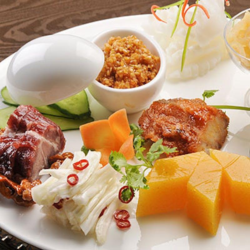 カジュアルランチコース フカヒレスープ、小籠包、ピーマン牛肉の炒めなど全8品(個室選択可)