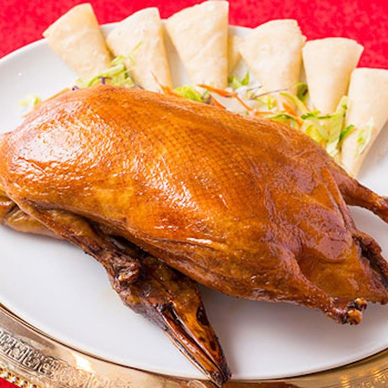 休日贅沢コース フカヒレ煮込みや北京ダック、麻婆豆腐等全7品+2時間飲み放題(土日祝限定・個室選択可)