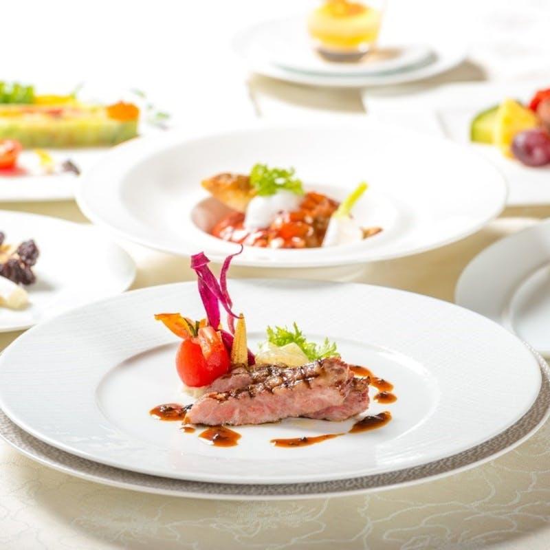 【シェフのお任せコース】黒毛和牛・魚料理・前菜・デザート等全7品