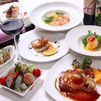 15種類以上の海老と旬の食材を使用する料理の数々は新鮮なものばかり