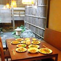 京都らしいお茶屋(町家)の雰囲気を感じる「寛ぎ空間」