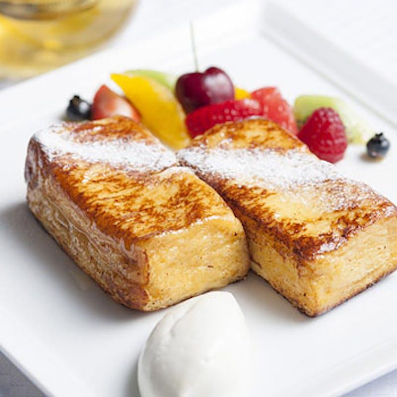 【土日祝MENU DE REGULAR】選べるメイン等全5品+デザートはフレンチトースト