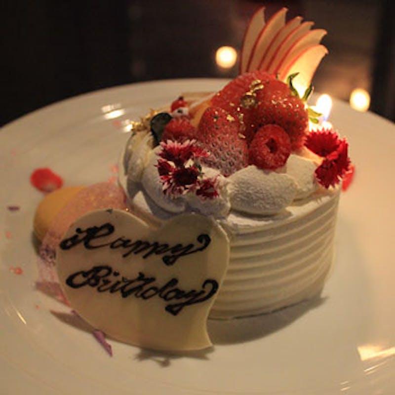 【Anniversary】選べるメインやメッセージ入りホールケーキなど 全5品