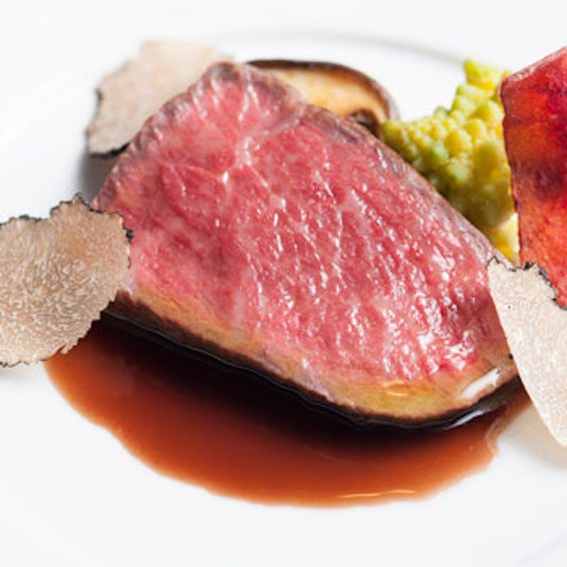 【平日MENU DE SPECIAL】フォアグラ丼や黒毛和牛も選べるメインなど全5品+シャンパン+フレンチトースト
