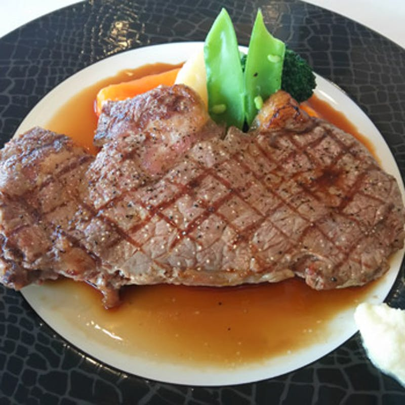 【牛リブロースステーキセット】牛リブロースを180g味わえる 全4品(窓際確約)