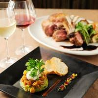 旬の食材と美味しいワインのマリアージュを気軽に楽しむ