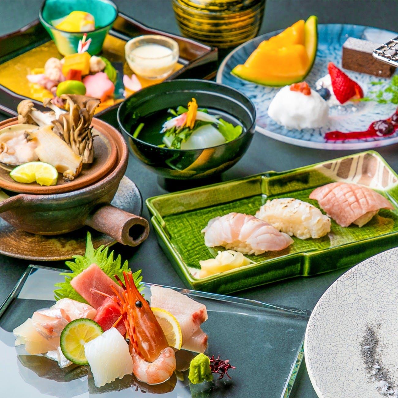 「美食」というエンターテイメントを「日本の四季」とともに皆様にお届け