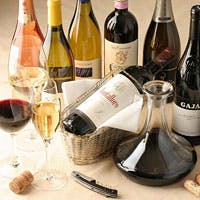 ソムリエ厳選!100種類以上のイタリアワインを楽しむ